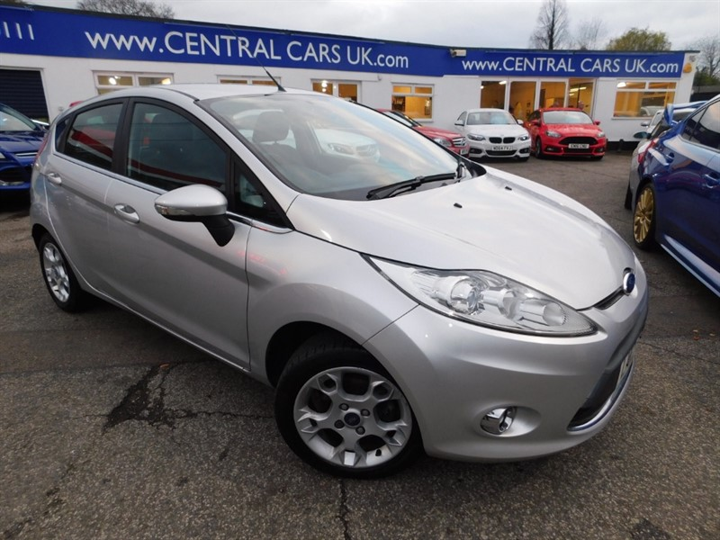 used Ford Fiesta ZETEC in leigh