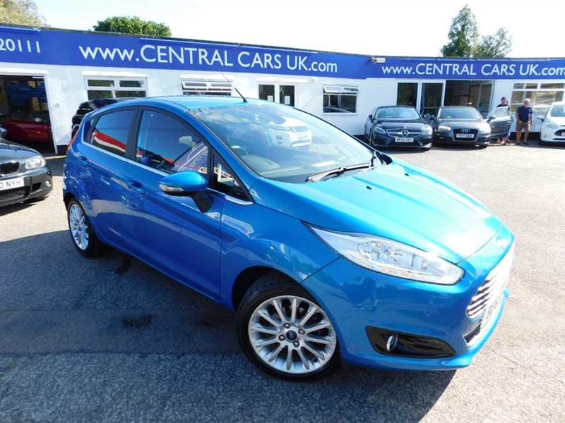 used Ford Fiesta TITANIUM X in leigh