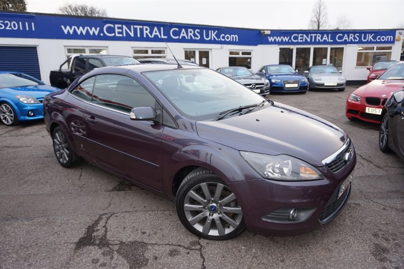 used purple ford focus cc for sale essex. Black Bedroom Furniture Sets. Home Design Ideas