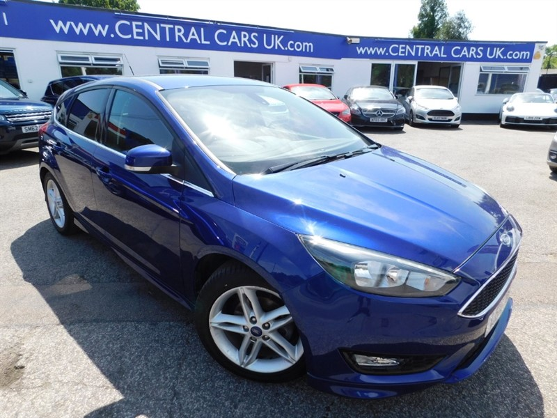 used Ford Focus ZETEC S in leigh