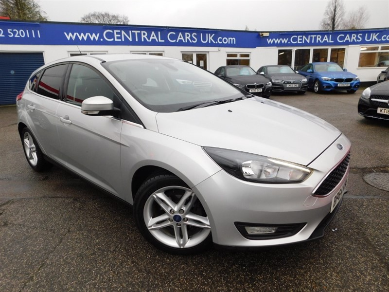 used Ford Focus ZETEC TDCI in leigh