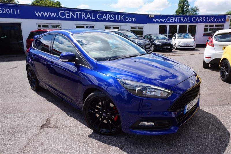 used Ford Focus 2.0 ST-3 In Metallic Blue in leigh