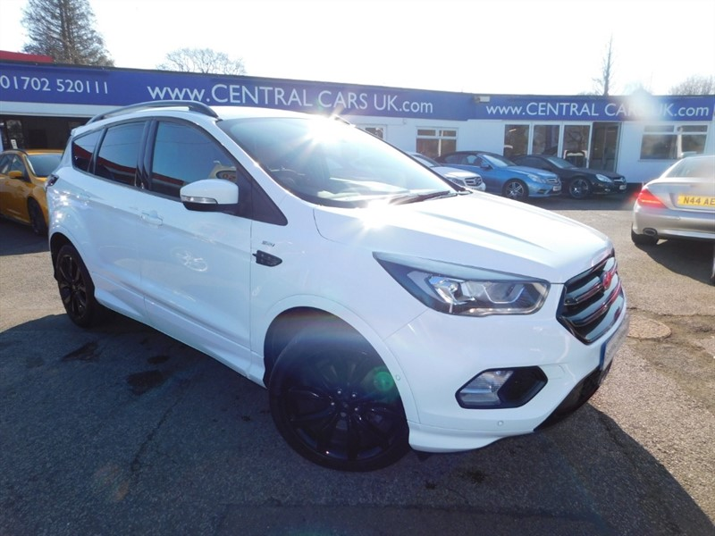 used Ford Kuga ST-LINE TDCI in leigh