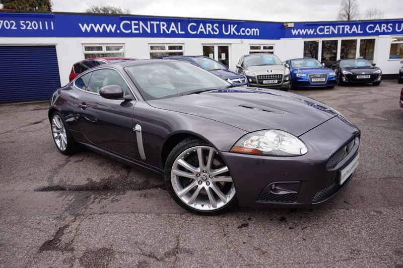 used Jaguar XK 4.2 XKR Supercharged Automatic In Metallic Grey in leigh