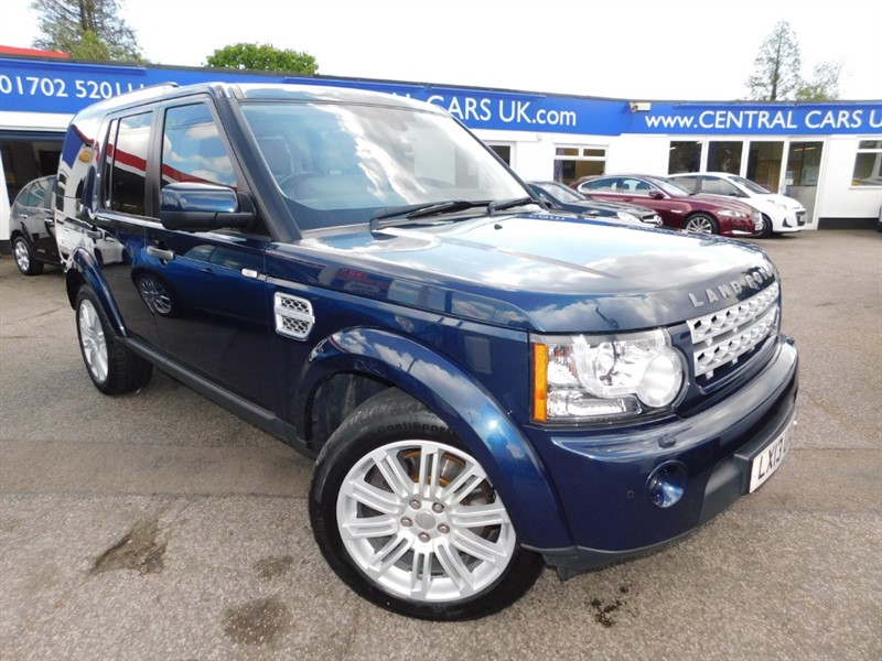 used Land Rover Discovery SDV6 HSE in leigh