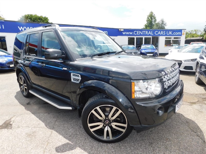 used Land Rover Discovery SDV6 HSE LUXURY in leigh