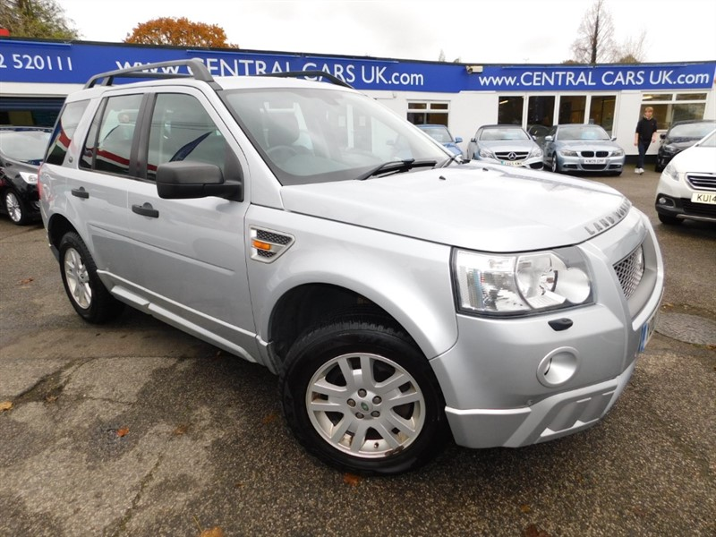used Land Rover Freelander TD4 XS in leigh
