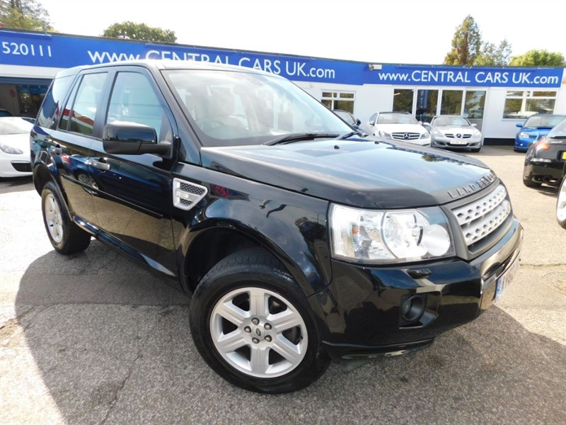 used Land Rover Freelander 2.2 SD4 GS Automatic In Black in leigh