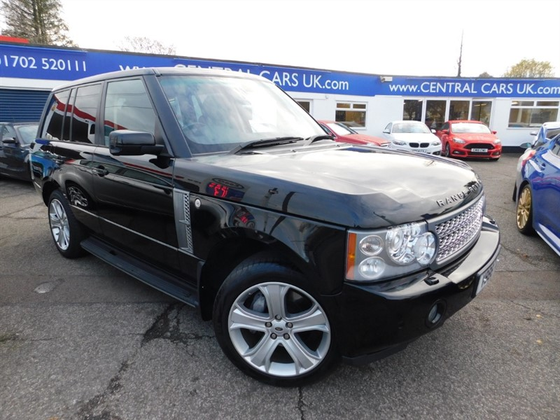 used Land Rover Range Rover V8 SUPERCHARGED in leigh