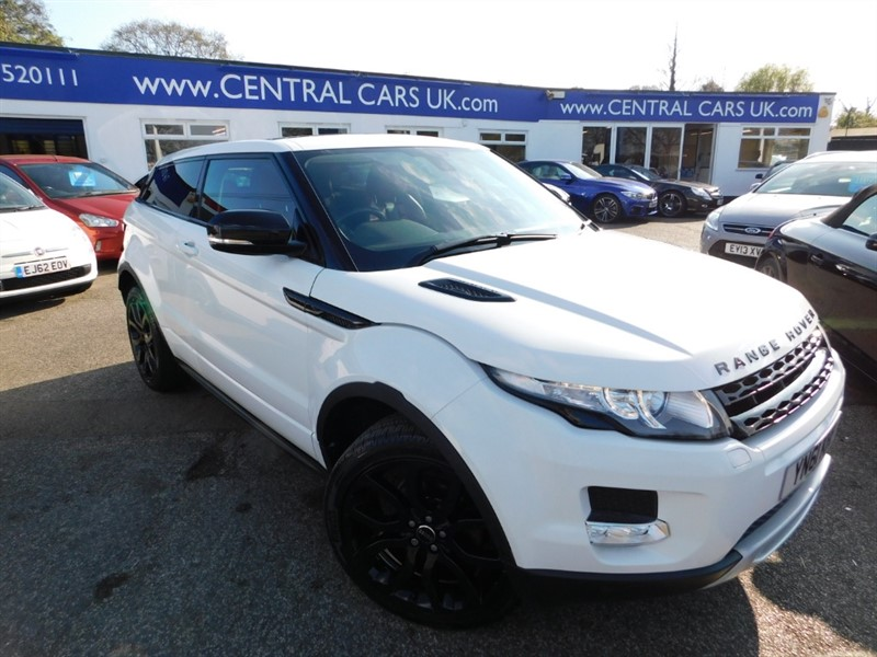 used Land Rover Range Rover Evoque SD4 DYNAMIC in leigh