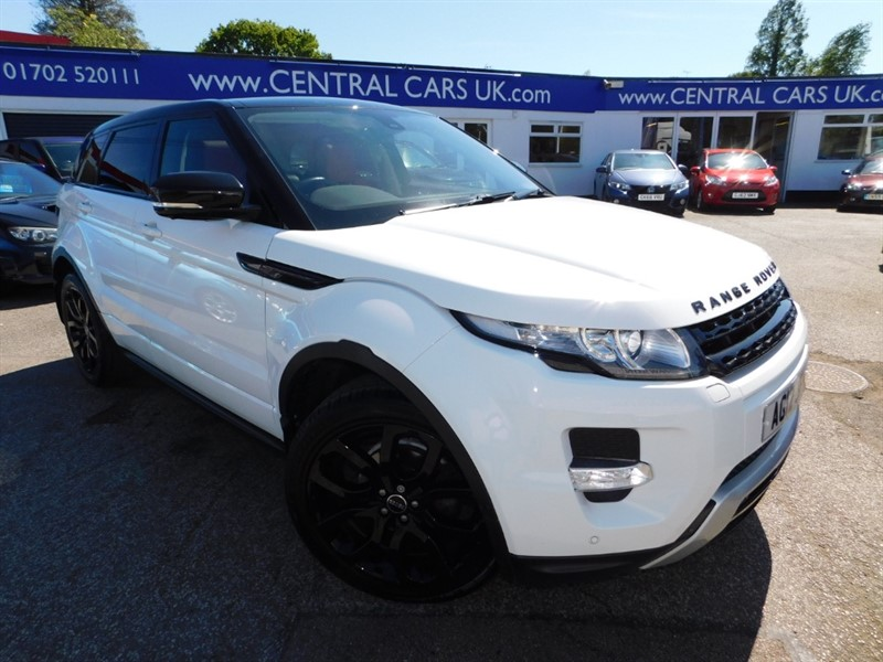 used Land Rover Range Rover Evoque SD4 DYNAMIC LUX in leigh