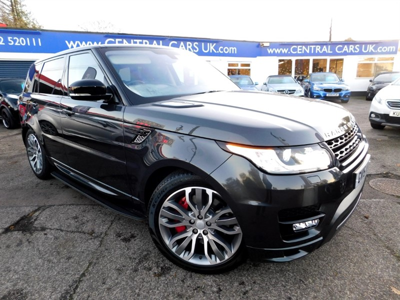 used Land Rover Range Rover Sport SDV6 AUTOBIOGRAPHY DYNAMIC in leigh