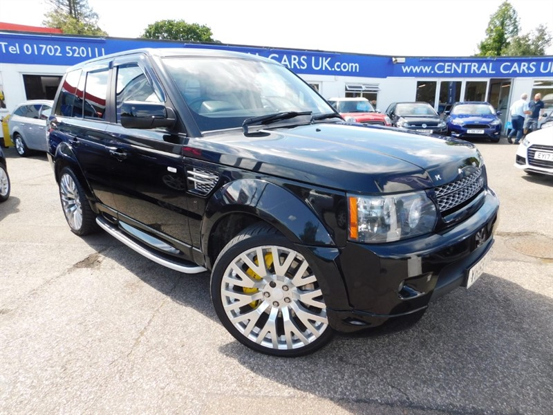 used Land Rover Range Rover Sport V8 HSE in leigh