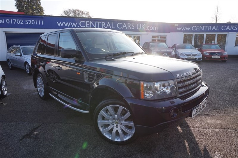 used Land Rover Range Rover Sport 2.7 TDV6 Sport HSE Turbo Diesel In Metallic Blue in leigh