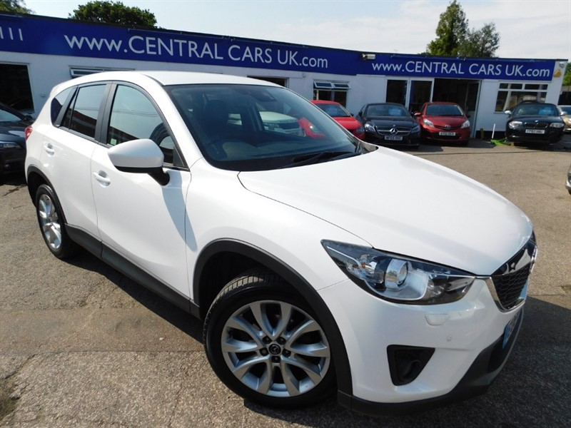used Mazda CX-5 D SPORT NAV 4WD in leigh