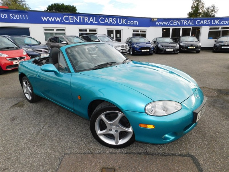 used Mazda MX-5 SPORT in leigh