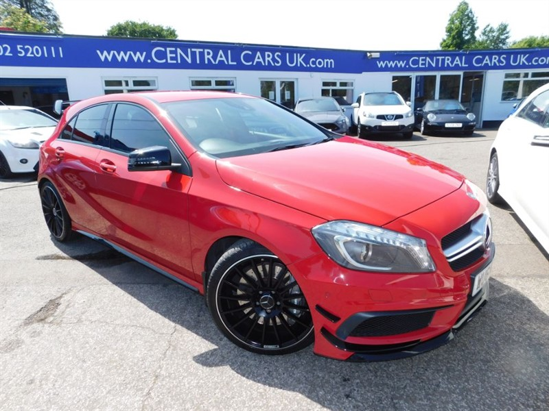used Mercedes A45 AMG 2.0 4MATIC In Red  in leigh