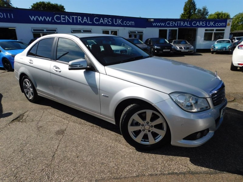 used Mercedes C200 CDI BLUEEFFICIENCY SE EDITION 125 in leigh