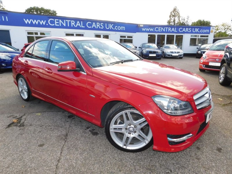 used Mercedes C250 CDI BLUEEFFICIENCY SPORT in leigh