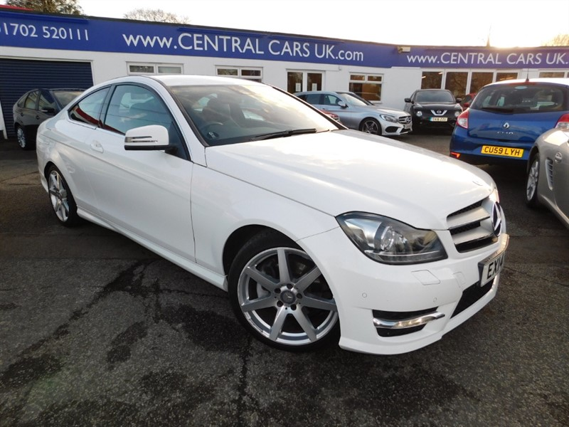 used Mercedes C220 CDI AMG SPORT EDITION PREMIUM in leigh