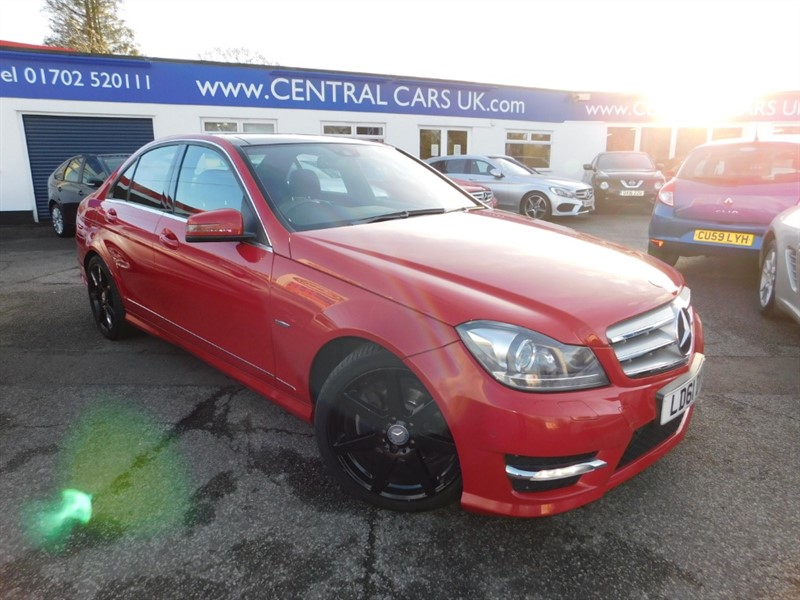 used Mercedes C220 CDI BLUEEFFICIENCY SPORT ED125 in leigh