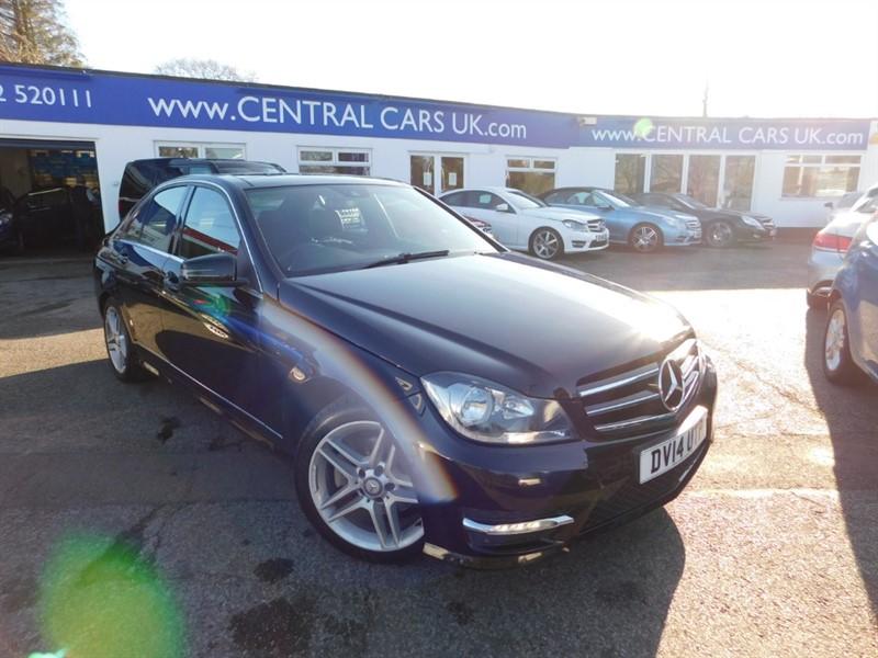 used Mercedes C250 CDI AMG SPORT EDITION PREMIUM PLUS in leigh