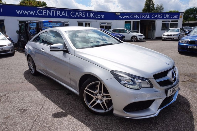 used Mercedes E250 2.1 CDI AMG SPORT In Metallic Silver in leigh