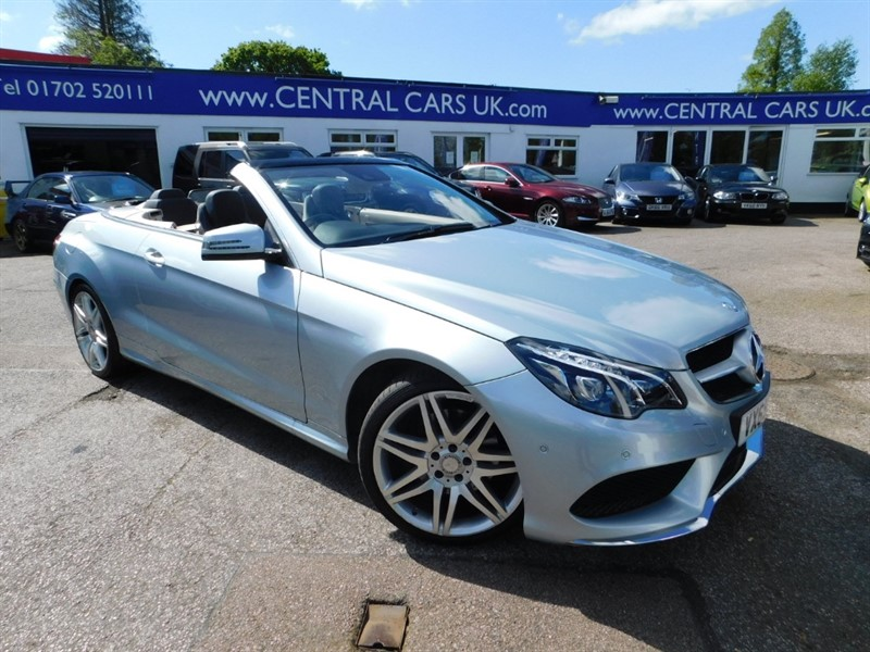 used Mercedes E220 BLUETEC AMG LINE in leigh