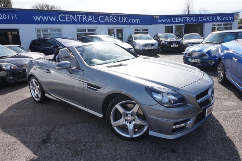 used Mercedes SLK SLK250 CDI BLUEEFFICIENCY AMG SPORT In Metallic Grey in leigh