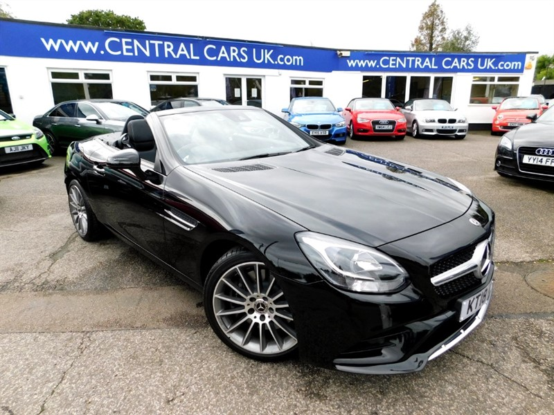 used Mercedes SLC200 SLC 200 AMG LINE in leigh
