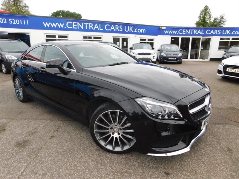 used Mercedes CLS220 CLS220 BLUETEC AMG LINE in leigh