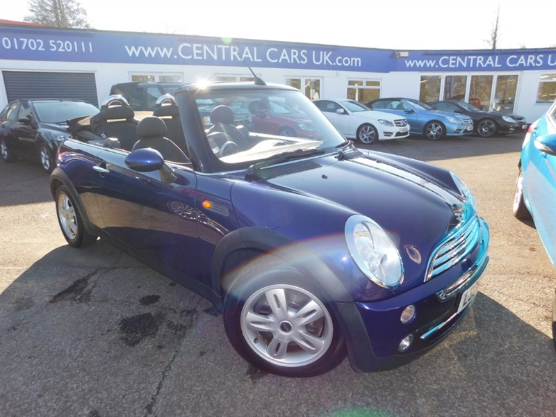 used MINI Convertible COOPER in leigh
