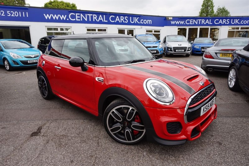 used MINI Hatch 2.0 JOHN COOPER WORKS Automatic In Red in leigh