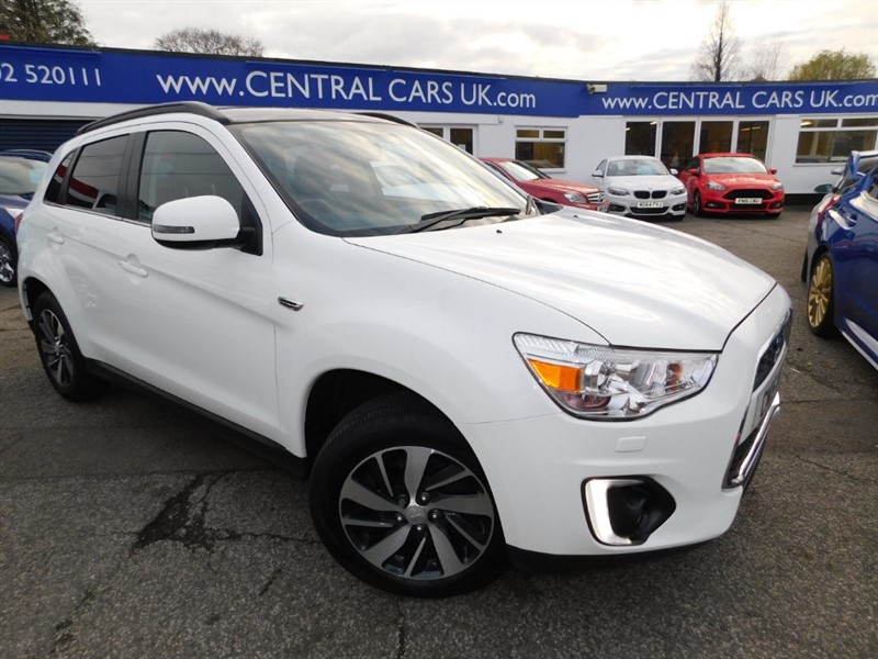 used Mitsubishi ASX DI-D 4 in leigh