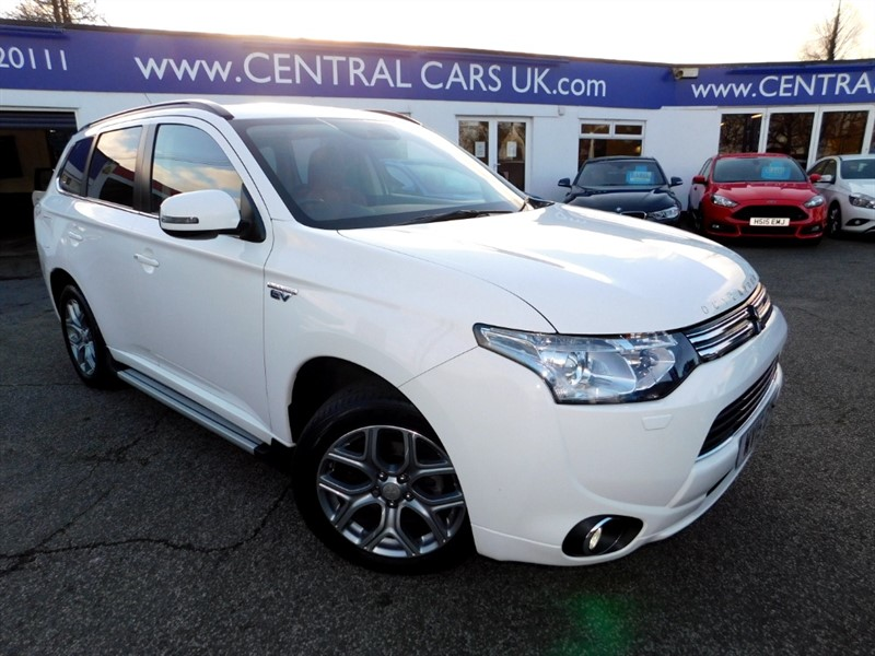 used Mitsubishi Outlander PHEV GX5HS in leigh