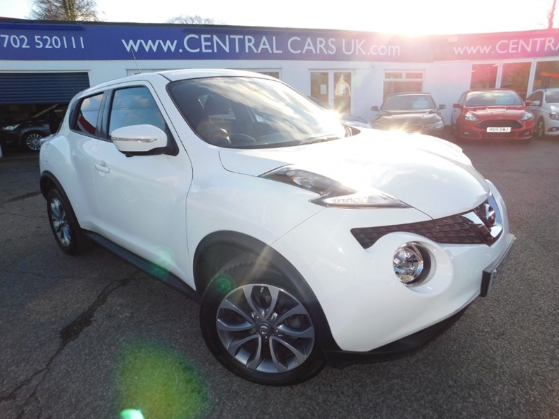 used Nissan Juke TEKNA DIG-T in leigh
