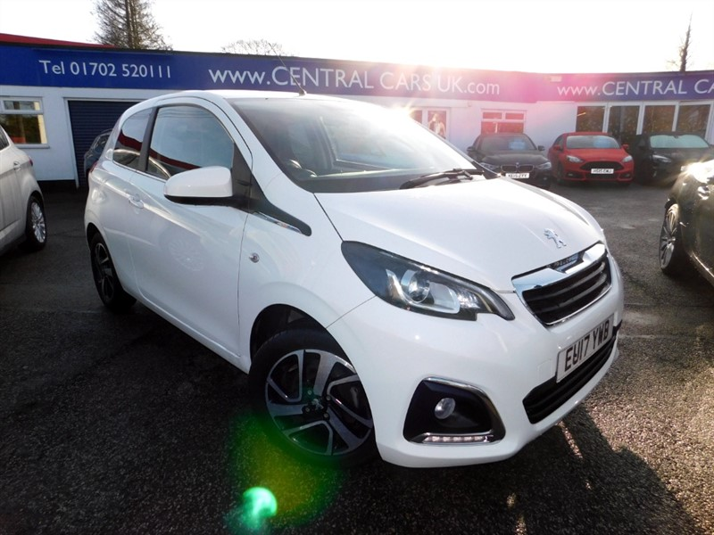 used Peugeot 108 ALLURE in leigh