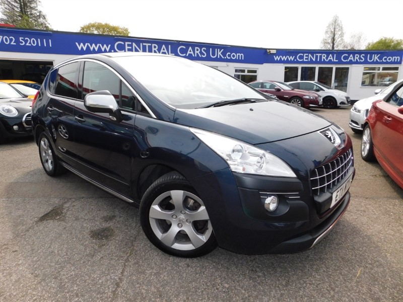 used Peugeot 3008 EXCLUSIVE in leigh