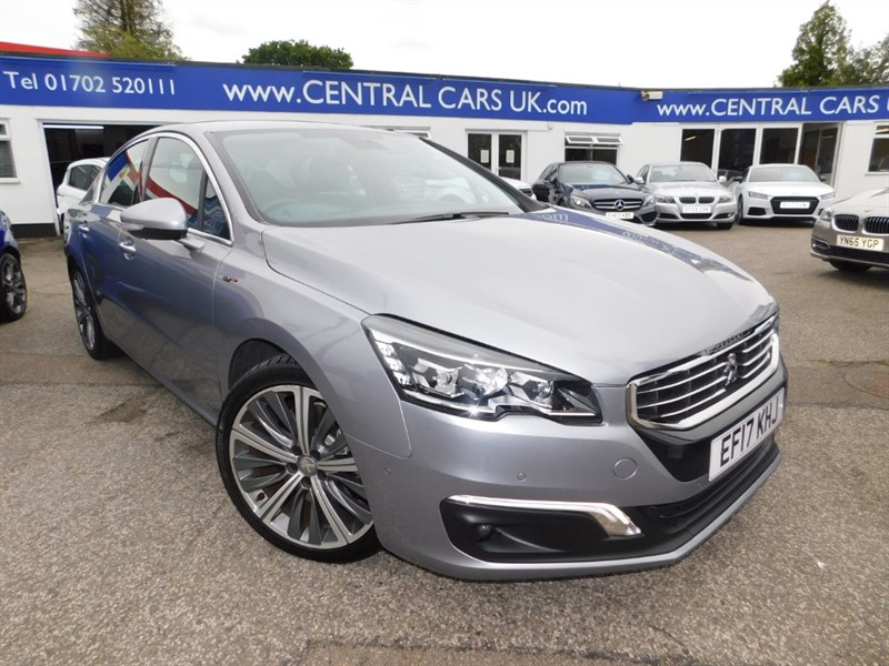 used Peugeot 508 BLUE HDI S/S GT in leigh