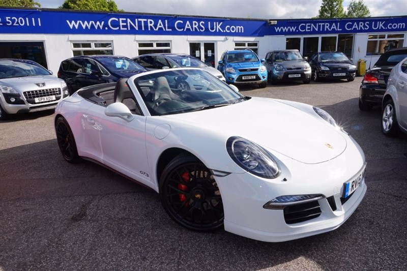 used Porsche 911 CARRERA GTS PDK In White in leigh