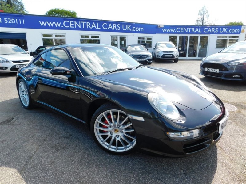 used Porsche 911 3.8 Carrera 4 Tiptronic S In Black in leigh