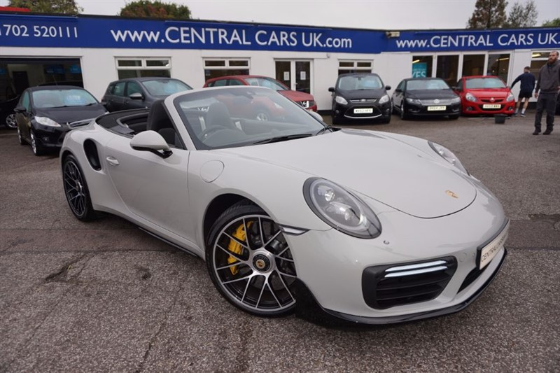 used Porsche 911 Turbo 3.8 S PDK In Crayon Grey in leigh