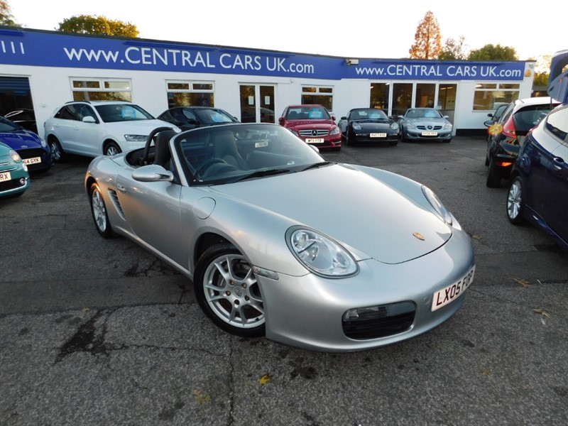 used Porsche Boxster 2.7 24V Tip Tronic In Metallic Silver in leigh