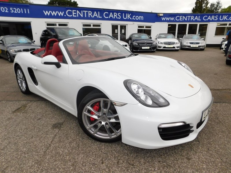 used Porsche Boxster 3.4 S 24V In White in leigh