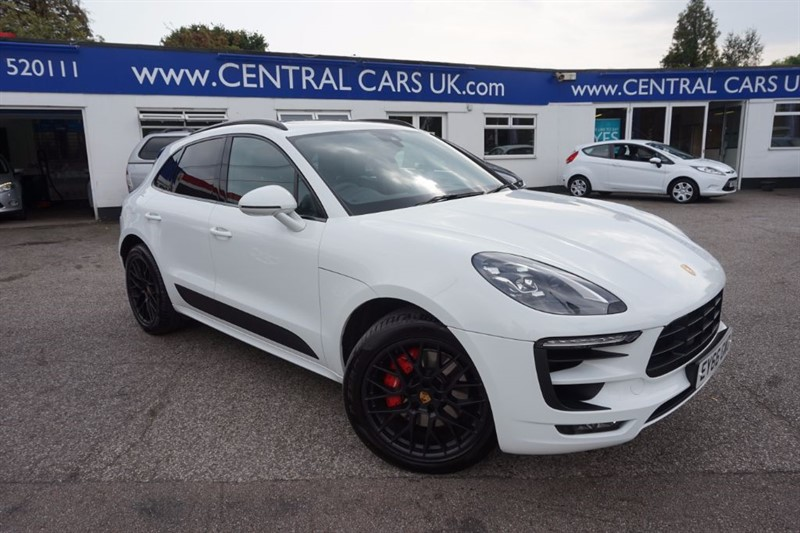 used Porsche Macan GTS PDK In White in leigh