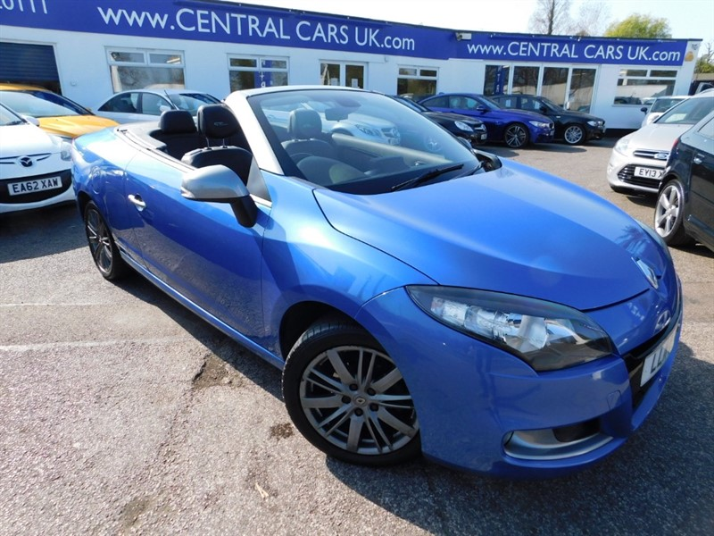 used Renault Megane GT LINE TOMTOM DCI in leigh