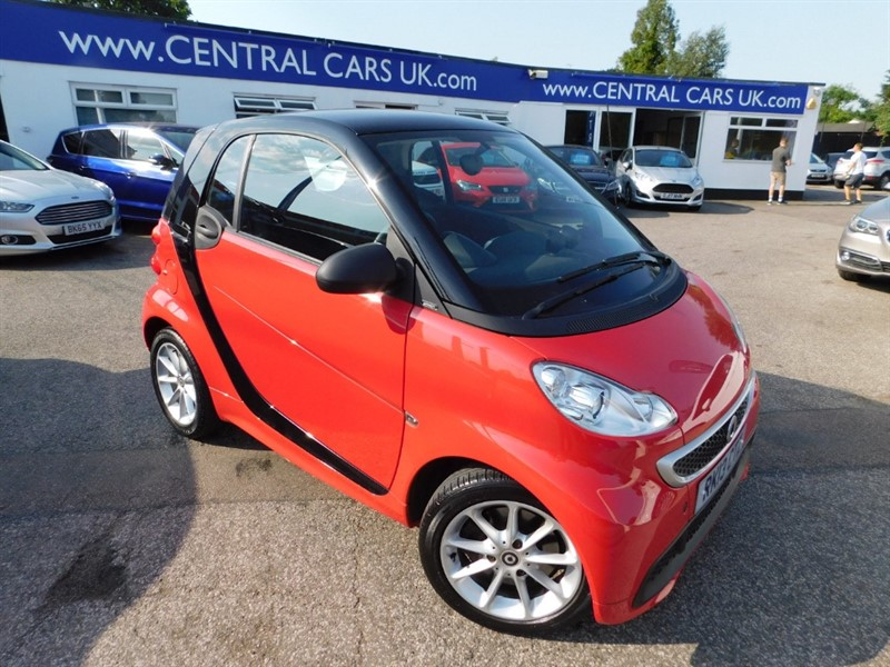 used Smart Car Fortwo Coupe PASSION MHD in leigh