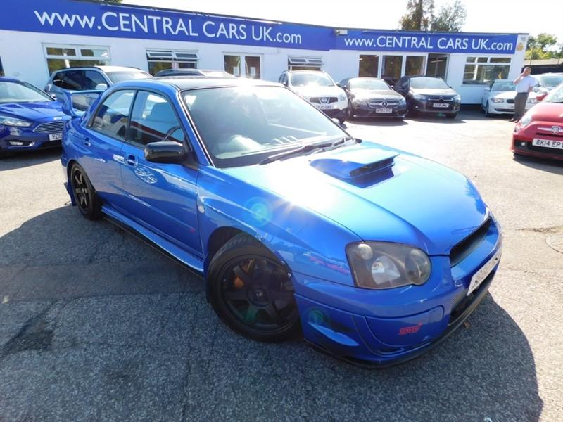 used Subaru Impreza WRX STI TYPE UK in leigh