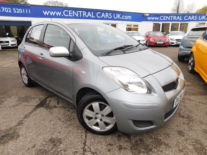 used Toyota Yaris VVT-I TR MM in leigh