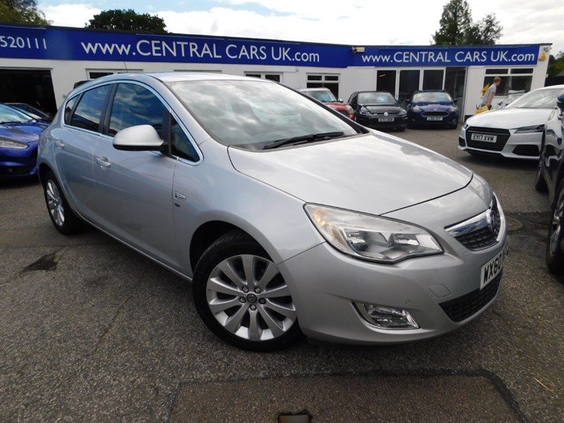 used Vauxhall Astra SE in leigh
